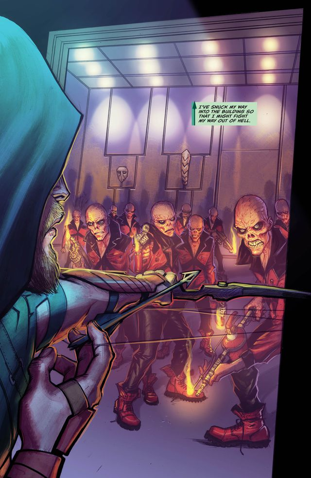 Green Arrow #3 Review
