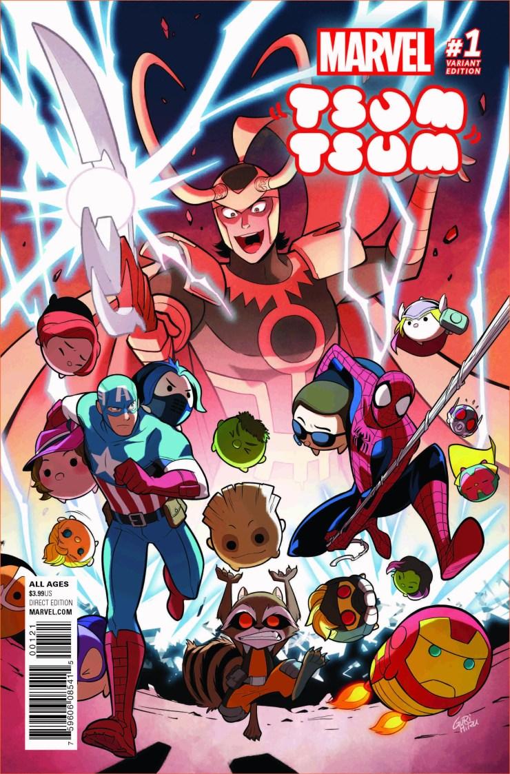 Marvel Tsum Tsum #1 Review