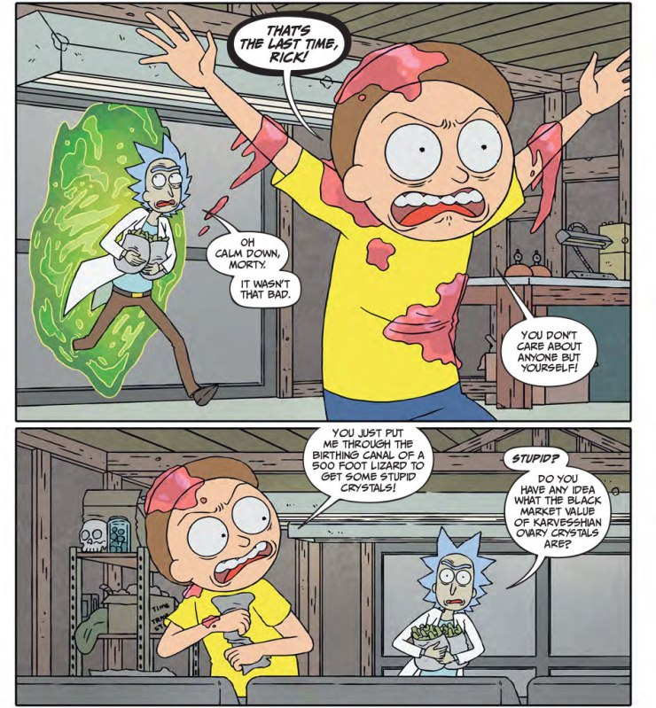 Rick and Morty #16 Review