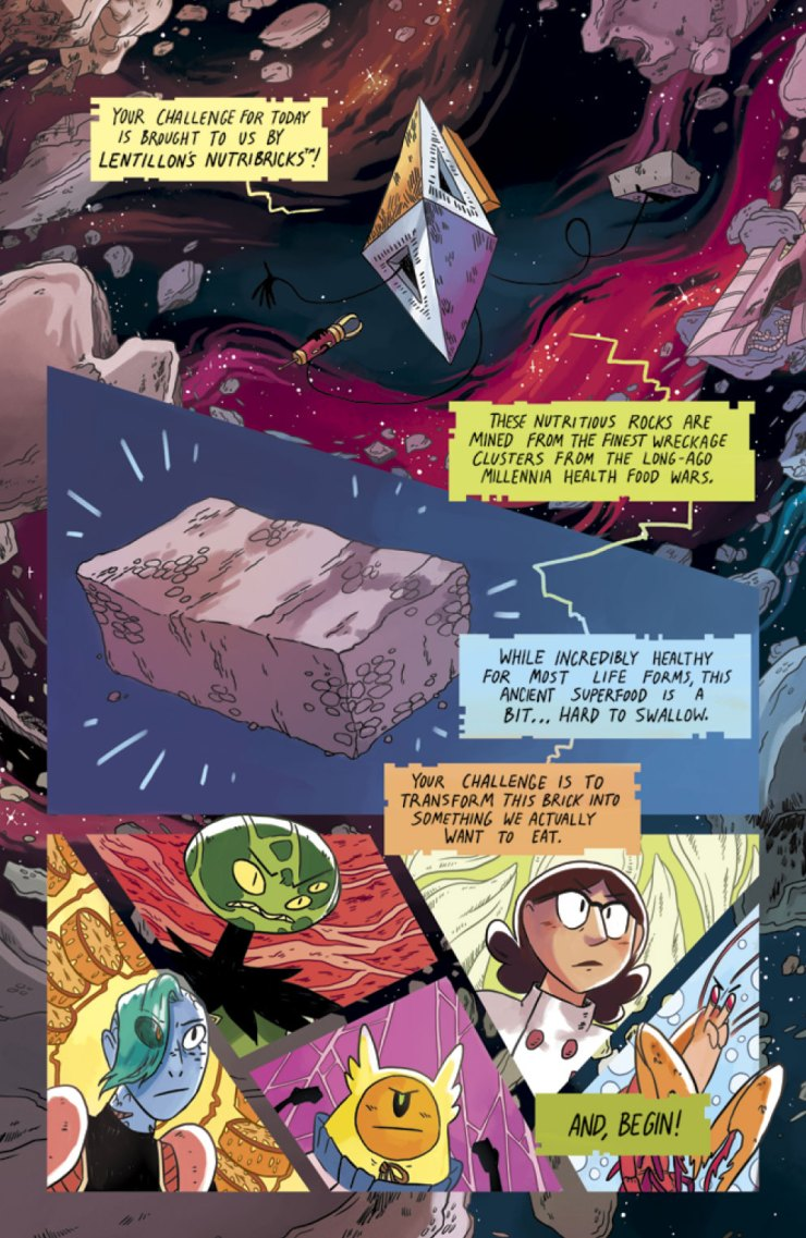 Natalie Reiss talks her Oni Press original series, world building, and Batman