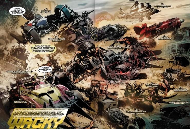 Wacky Raceland #2 Review