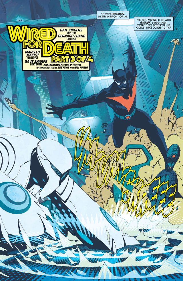 Batman Beyond #14 Review