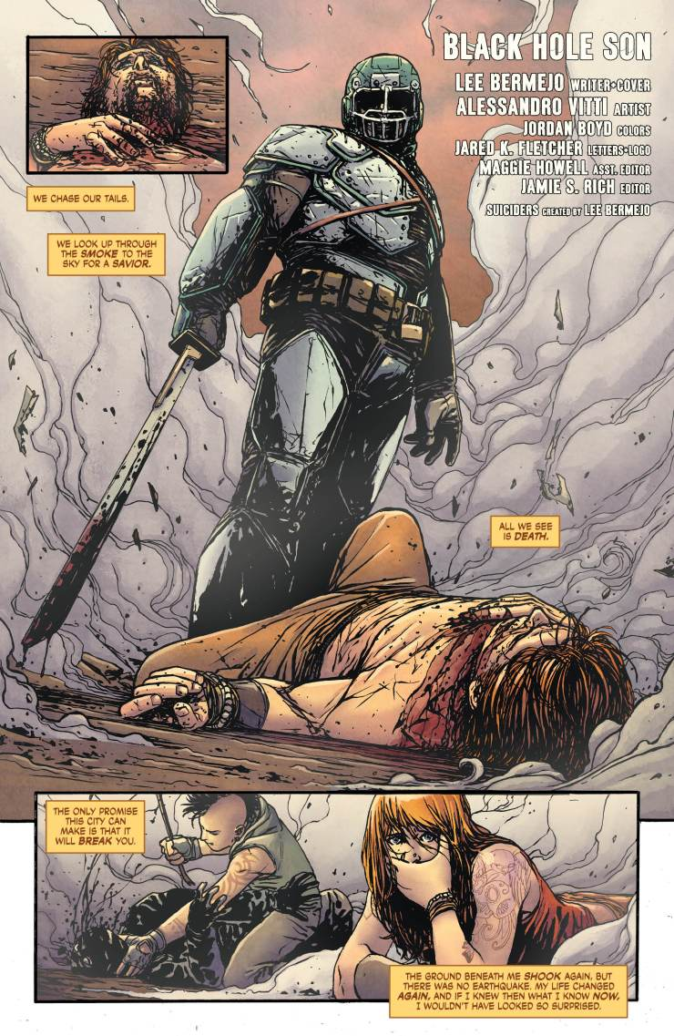 Suiciders: Kings of HelL.A. #5 Review