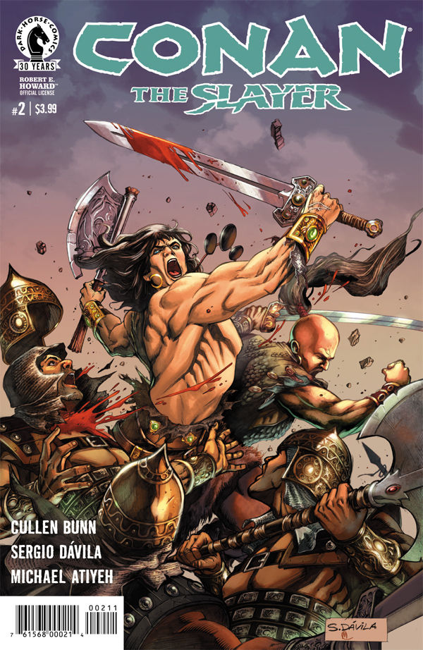 Conan the Slayer #2 Review