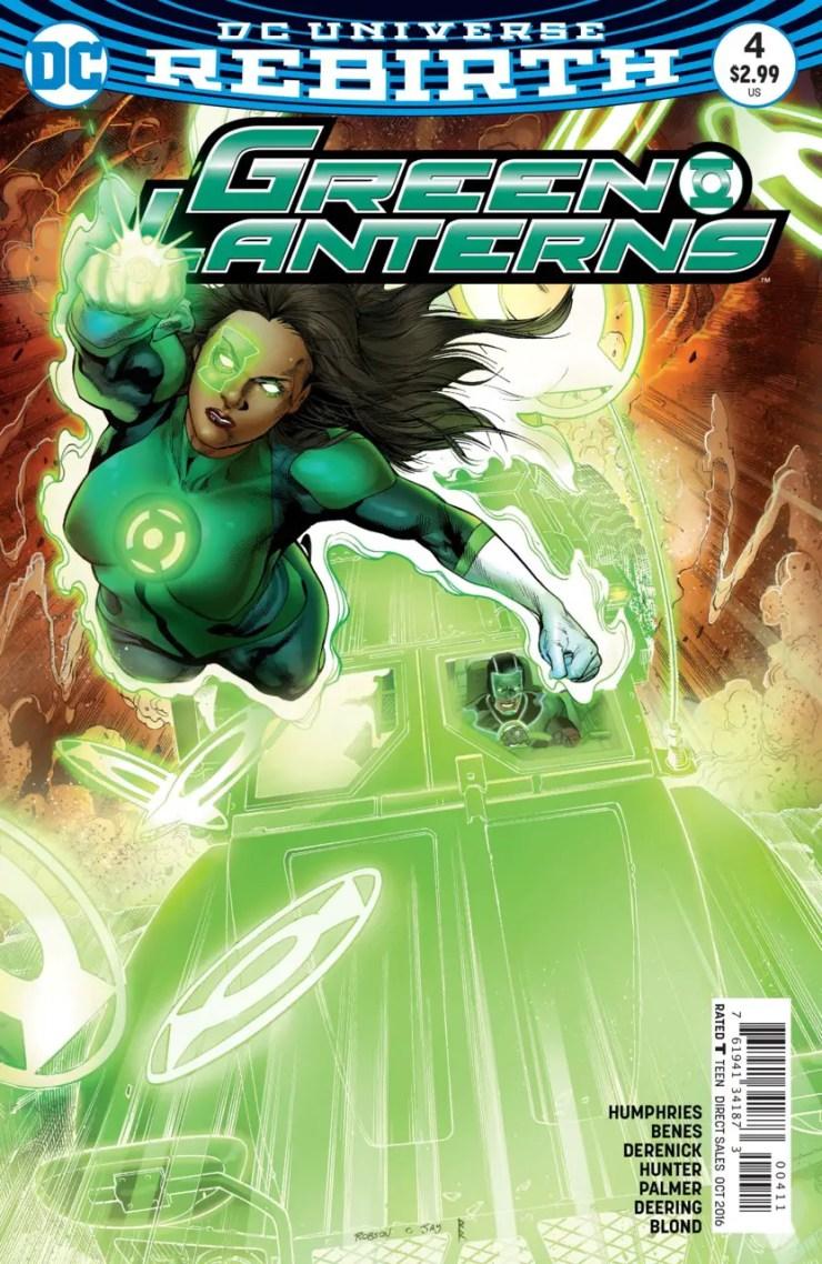 Green Lanterns #4 Review