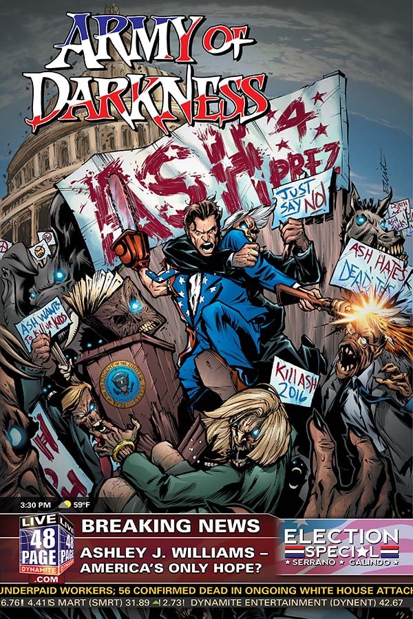 Army of Darkness: Ash For President Review