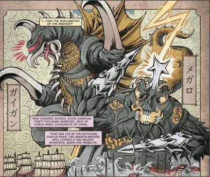 Godzilla: Rage Across Time #1 Review