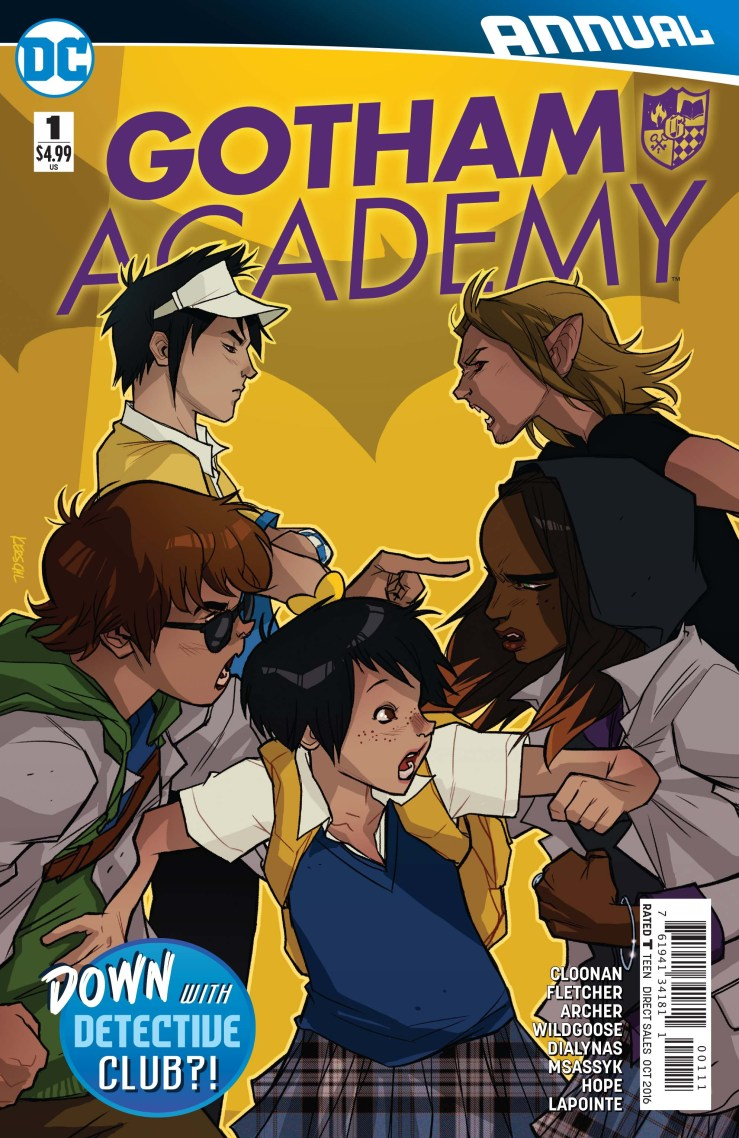 Gotham Academy Annual #1 Review