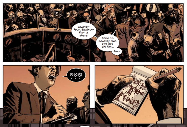 The Black Monday Murders #1 Review