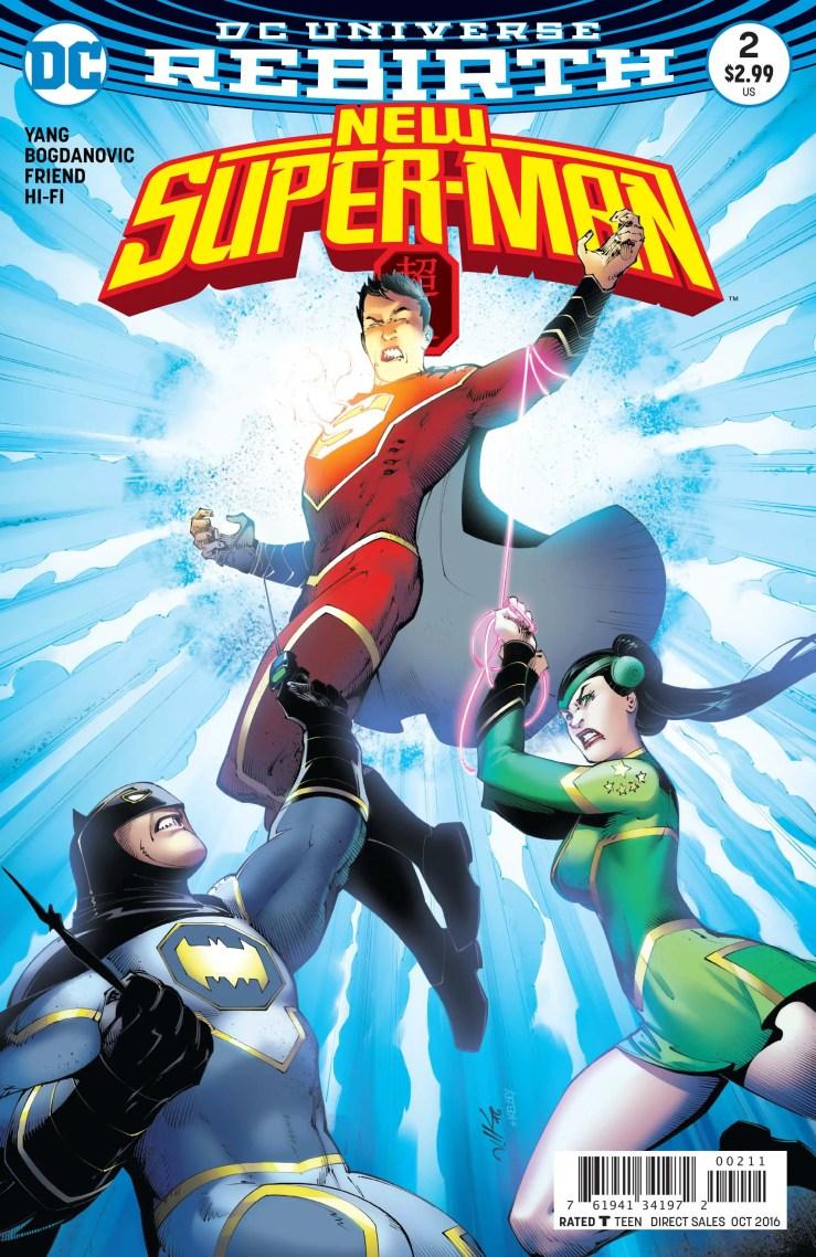 New Super-Man #2 Review