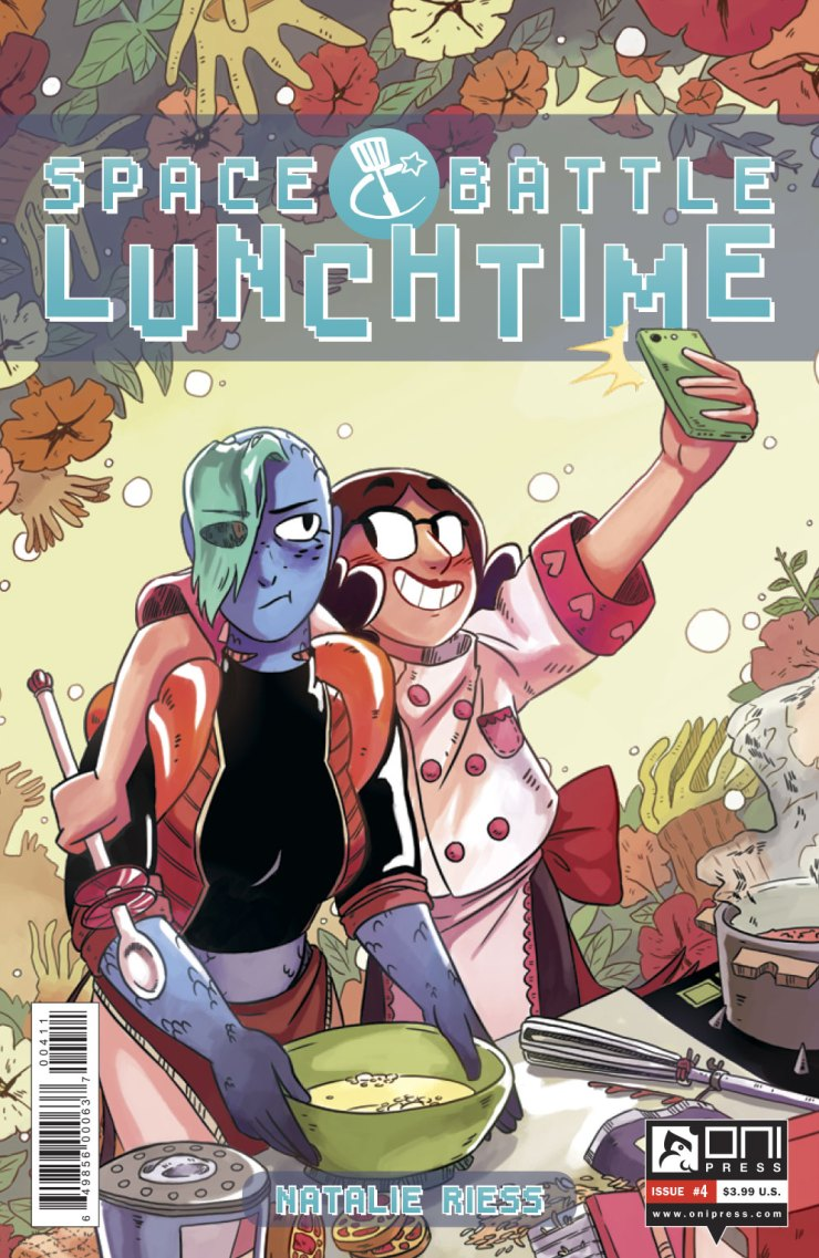 Space Battle Lunchtime #4 Review
