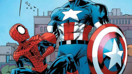 Spidey versus Captain America! Nah, just kidding. Spidey teams up with Captain America! What sort of ropes will Spidey learn from the Living Legend?