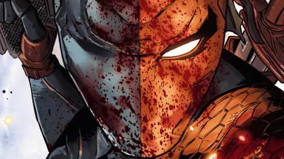 """Deathstroke: Rebirth #1 marks the long-awaited return of writer Christopher Priest (credited here simply as """"Priest"""") to an ongoing comic book series, with penciller Carlo Pagulayan, inker Jason Paz, colorist Jeremy Cox, and letterer Willie Schubert along for the blood-soaked ride. Is it good?"""