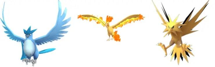 legendary-birds-pokemon-go