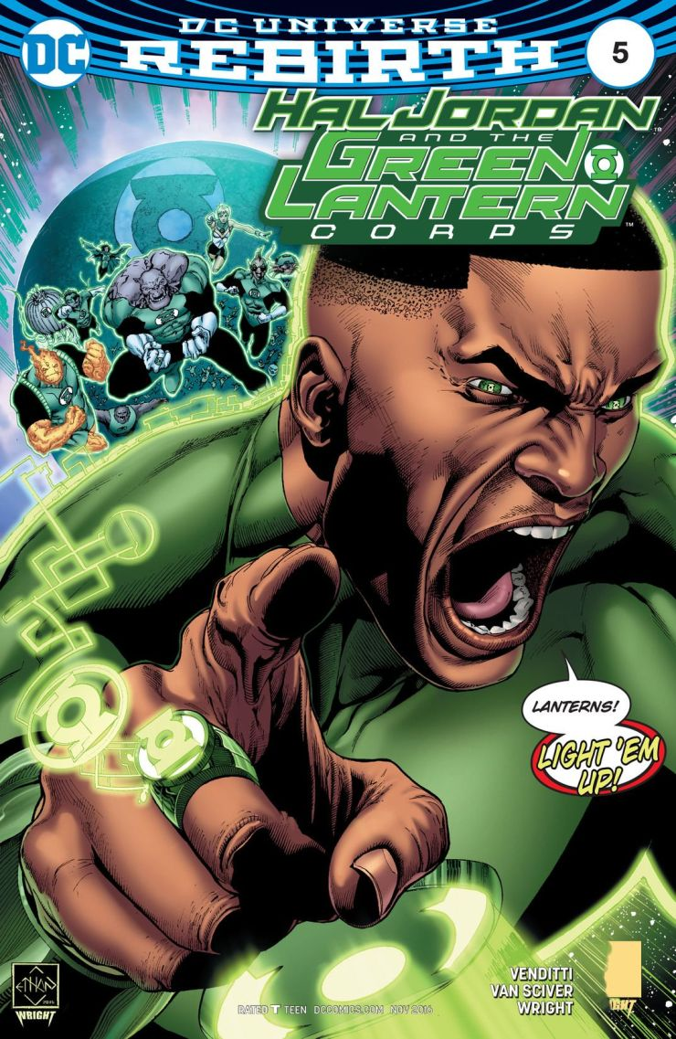 Hal Jordan and The Green Lantern Corps #5 Review