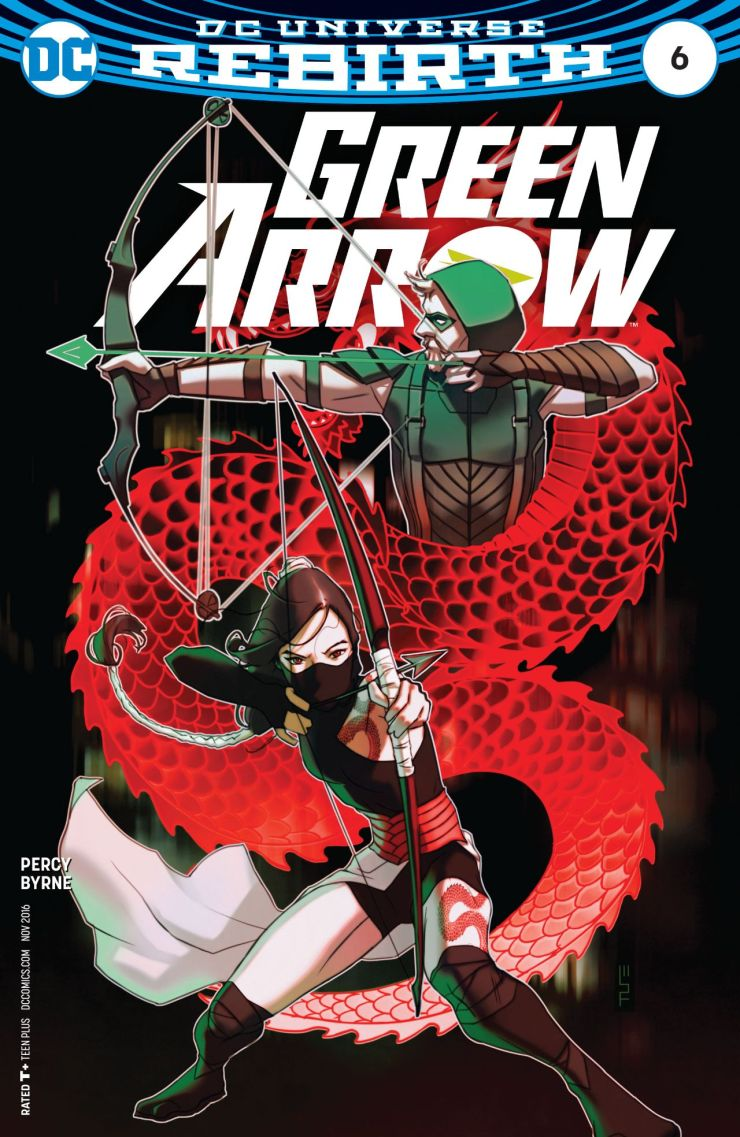 Green Arrow #6 Review