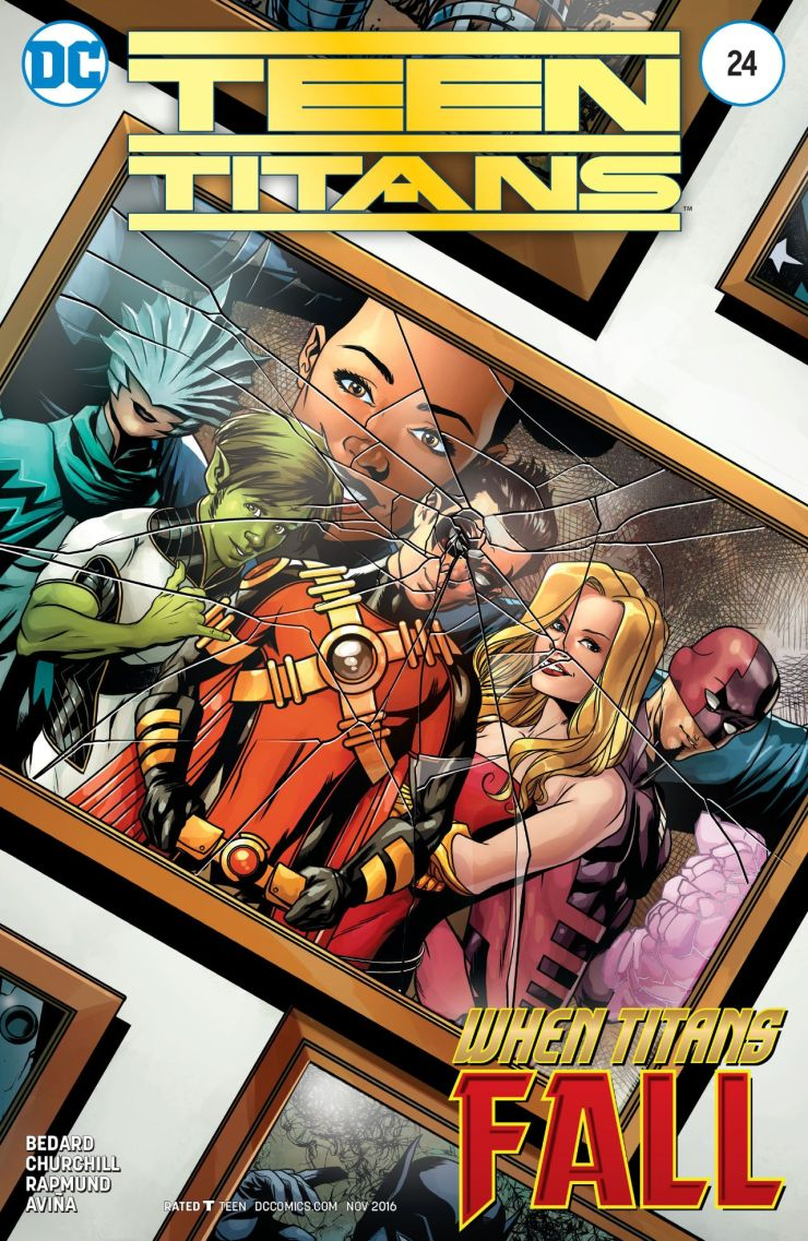 Teen Titans #24 Review