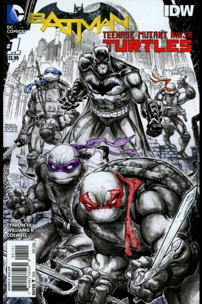 The director's cut of the Batman/TMNT first issue comes out this week, and I kind of loved the Dark Knight III version, so let's give this one a whirl. Is it good?
