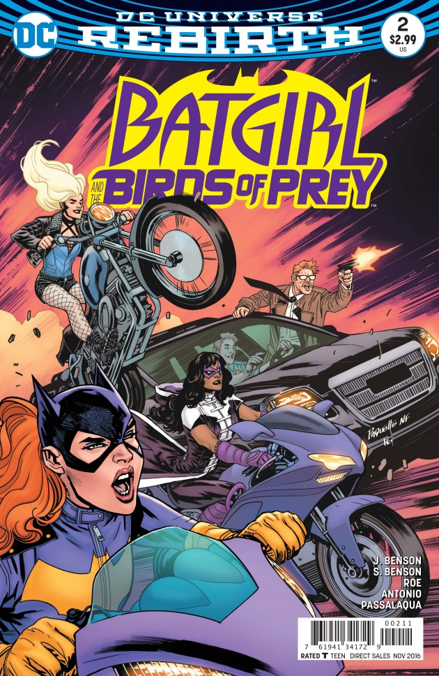 Batgirl and the Birds of Prey #2 Review