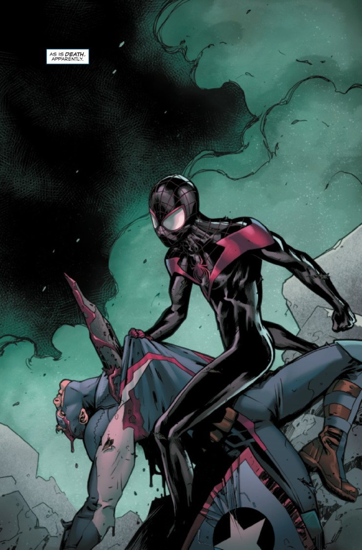 Captain America: Steve Rogers #6 Review