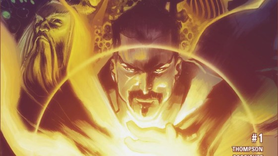 Because sometimes, just one Sorcerer Supreme won't do! This October, Stephen Strange multiplies his mystic might by teaming with magicians from across time in DOCTOR STRANGE AND THE SORCERERS SUPREME #1 – the new ongoing series launching as part of Marvel NOW!. Fan-favorite creators Robbie Thompson (Silk, Venom: Space Knight) and Javier Rodriguez (Spider-Woman, Daredevil) team together to make Marvel magic across the past, present and future! When an ancient evil threatens to unravel the fabric of reality, Doctor Strange must unite Sorcerers Supreme from across time to stem the coming darkness. Merlin, the Ancient One, Wiccan and more must unite to stand against The Forgotten. But even a team of the greatest sorcerers history has ever known may not be enough! Not to mention Strange should watch his back, not all these Sorcerers have his best interests in mind. Be there as the magical adventure across space and time begins on October 26th in DOCTOR STRANGE AND THE SORCERERS SUPREME #1!