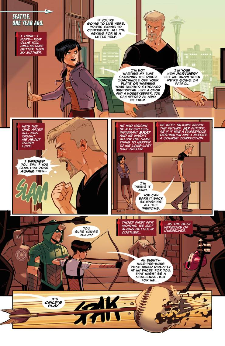 Green Arrow #6 Review