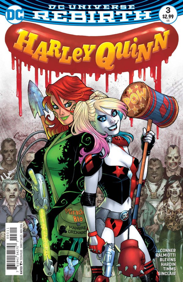 Can you believe this series has Harley Quinn and Poison Ivy fighting off hordes of zombies? So cool and fun, but can it stick the landing? Is it good?