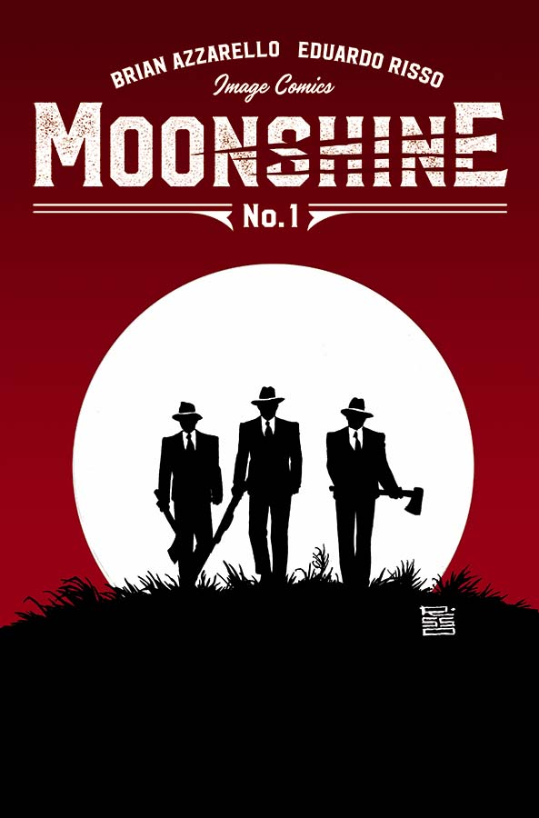 Moonshine is a new Image series by Brian Azzarello and Eduardo Risso, the team behind 100 Bullets.  Let's see what they have up their sleeves.  Is it good?