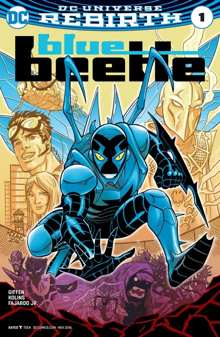 Blue Beetle #1 Review