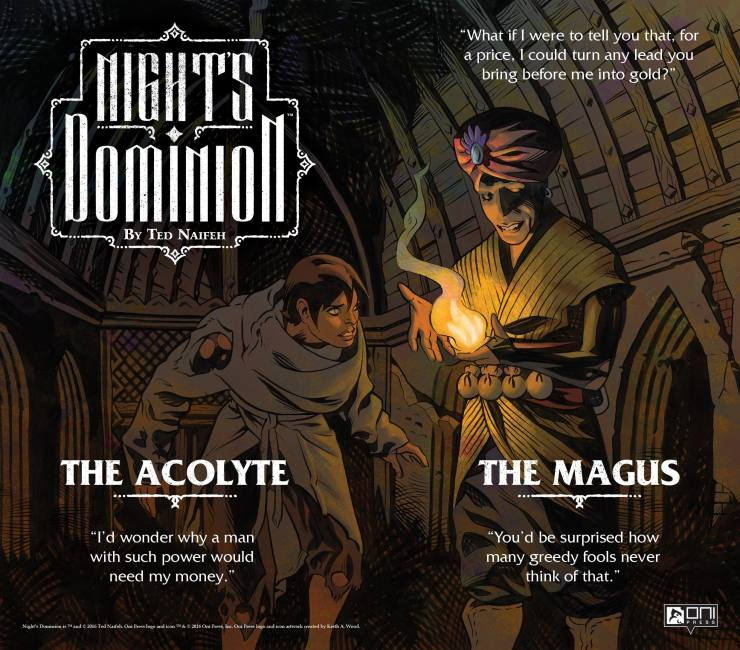 NIGHTSDOM PROMO MAGUS+ACOLYTE