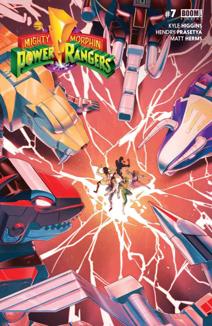 Mighty Morphin Power Rangers #7 Review