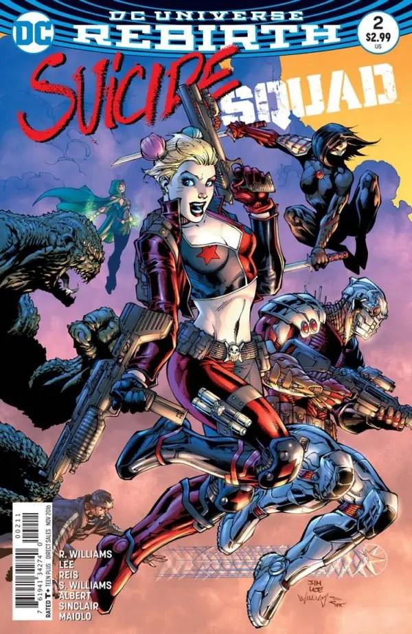 Suicide Squad #2 Review