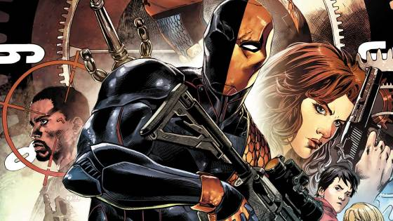 We've been enjoying DC Comics' Rebirth Deathstroke so far; writer Christopher Priest has given the character a new edge and an interesting backstory that's rife with espionage and ultraviolence. Violence is a crucial element to the character after all, being a contract killer and all --and with word that he's the new villain in Ben Affleck's upcoming Batman film, he's hotter than ever.