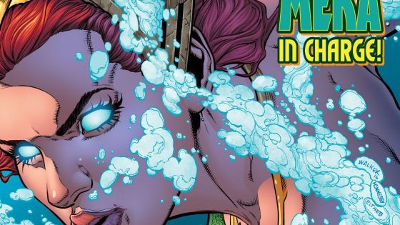 Becoming a queen is rough with a surprising number of obstacles. It's not so simple to be in love with the king of Atlantis, and this latest issue focuses entirely on Mera to show this. Is it good?