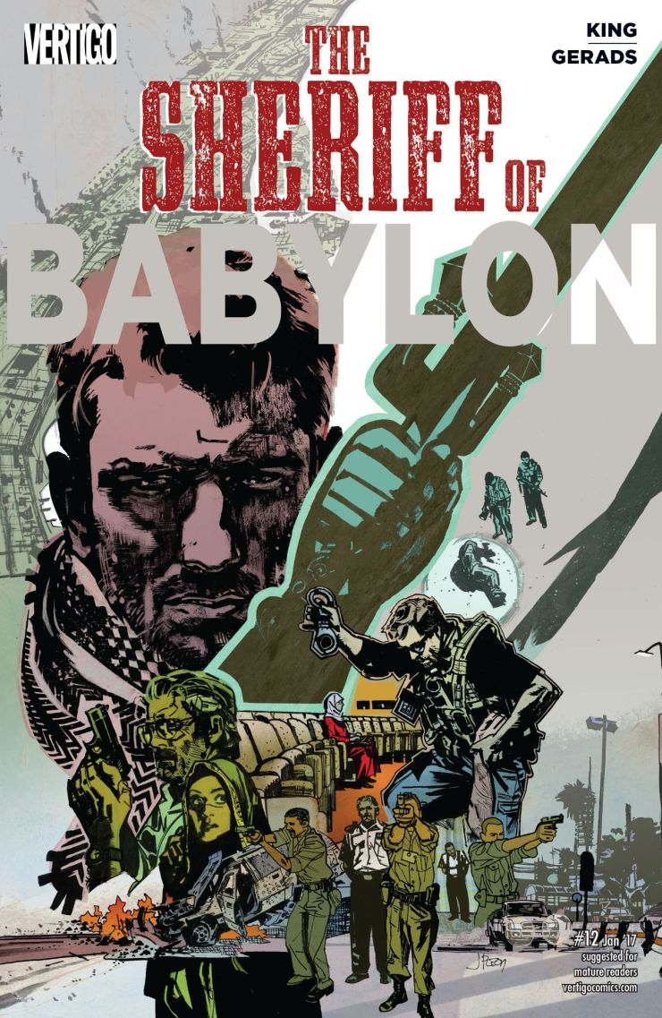 Sheriff of Babylon #12 Review