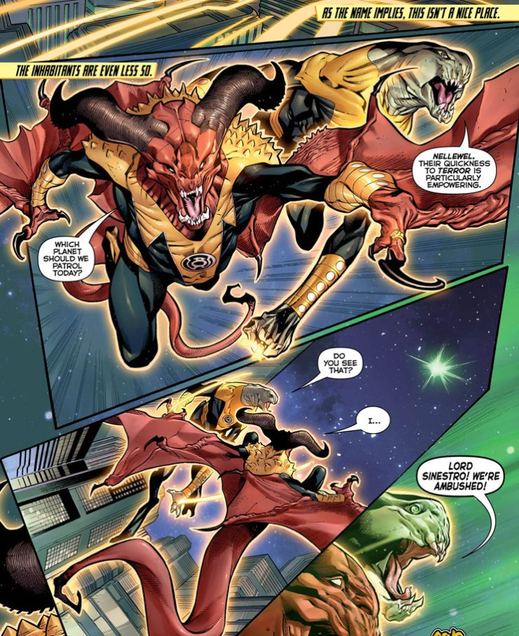 Hal Jordan and the Green Lantern Corps #6 Review