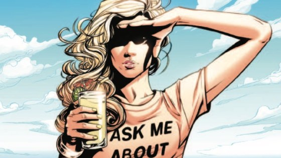 CIVIL WAR II TIE-IN! Stranded on a sinking ship adrift in the Bermuda Triangle, MOCKINGBIRD must catch a killer intent on using her past to drive her mad…if the sea monsters, pirate zombies and Nazi sailor ghosts don't get her first. Giant whirlpools! Time vortexes! Ex-boyfriends! Worst. Cruise. Ever.