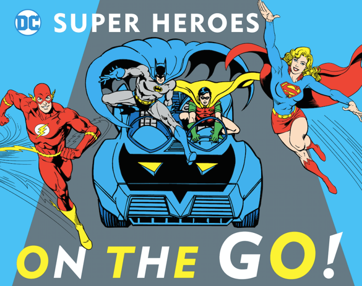 The Big Book of Superpowers/Super Heroes on the Go! Review