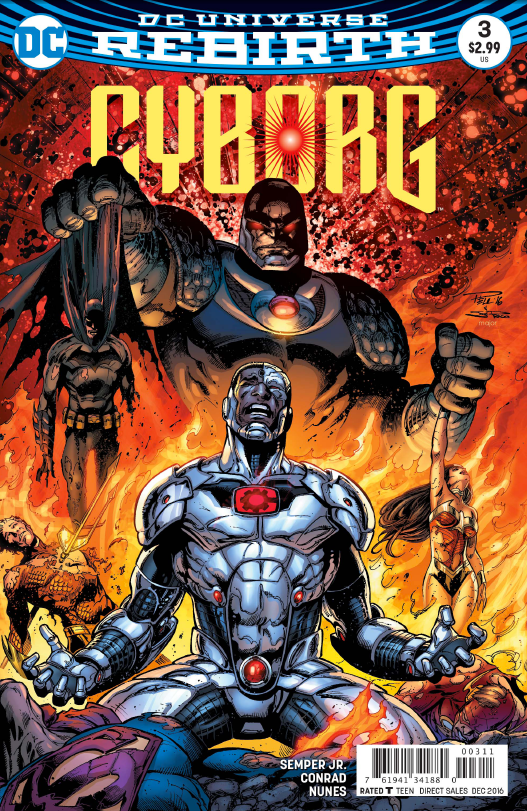 Cyborg #3 Review