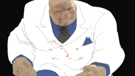 He may be a criminal, but Wilson Fisk is a self-made man. He's worked hard to secure his empire. He built it from the ground up. And now that Fisk knows one of his men has betrayed him in an attempt to take away his life's work, he's prepared to give his all to put an end to the mutiny. After all, you don't become the KINGPIN of crime without breaking a few rules and a lot of blood, sweat and tears…