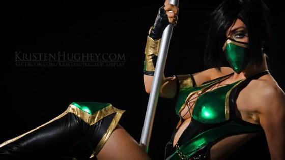 Mortal Kombat: Jade Cosplay by Kristen Hughey
