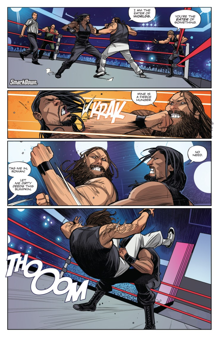 WWE: Then. Now. Forever. #1 Review