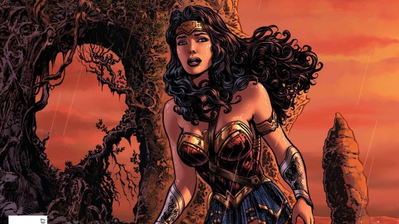 """""""THE LIES"""" part six! In the conclusion to this epic tale, the lie is revealed as Wonder Woman returns to Themyscira in the company of Steve Trevor to find that nothing has changed—and everything is wrong."""