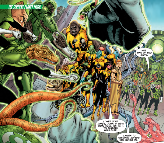 Hal Jordan and the Green Lantern Corps #8 Review