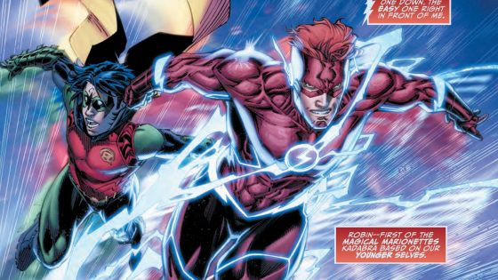 In more ways than one the idea of Titans is a great one. How often do you see teams evolve and grow older? This series captures the once-Teen Titans in their older and wiser form, complete with Wally West from old back on the team. Is it good?
