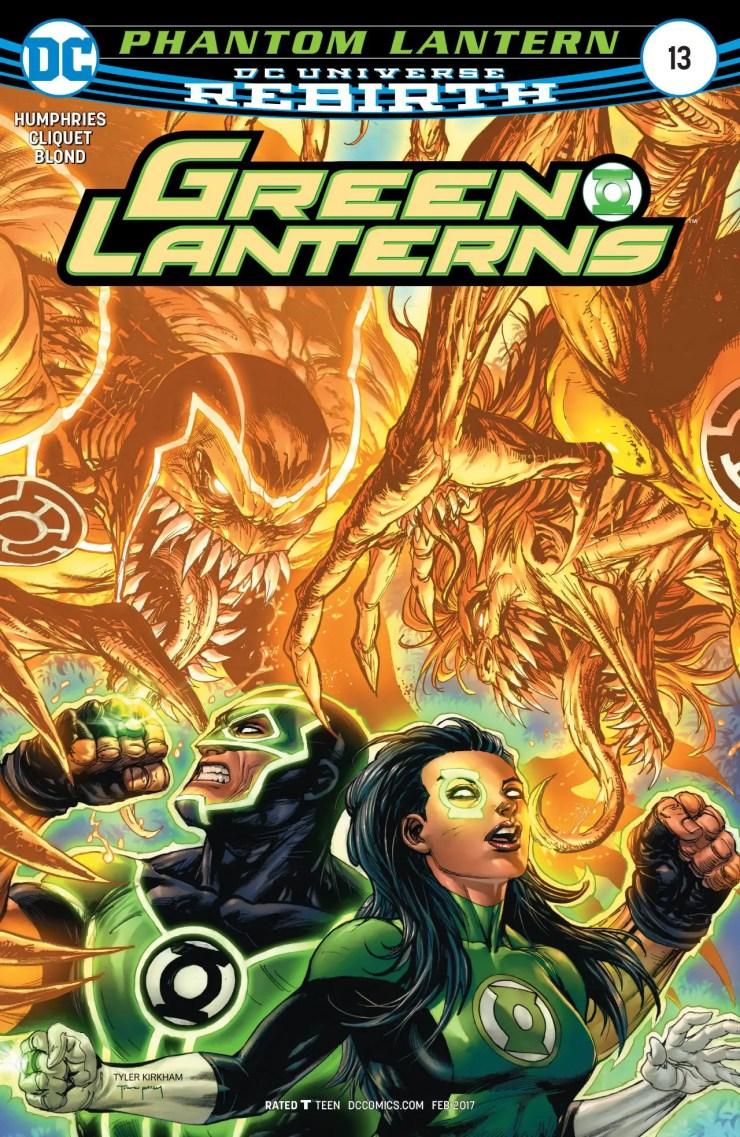 Green Lanterns #13 Review