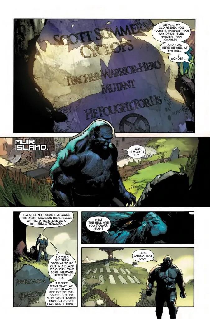 Inhumans vs. X-Men #1 Review