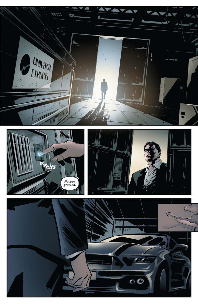 James Bond: Hammerhead #3 Review