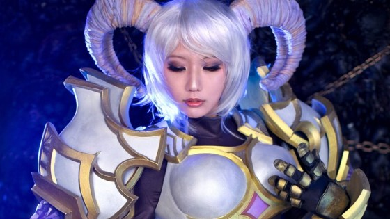 World of Warcraft: Yrel Cosplay by Sinme
