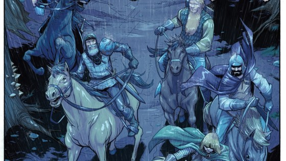 I've been getting Dark Ages vibes from this series due to its slow build up but also because there's an undercurrent of mystery. After reading this issue it's quite clear Green Valley is wholly original, but of a similar cloth. We delve in to answer the question: is it good?